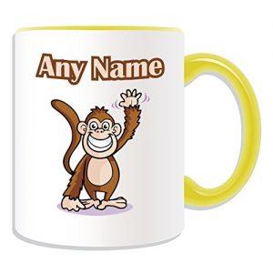 teacher wellbeing monkey mug