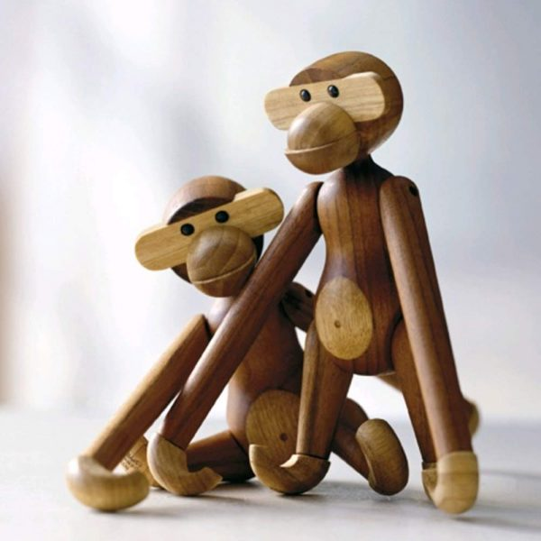 teacher retention and wellbeing monkey desk ornament
