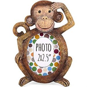 teacher mental health wellbeing monkey photo frame