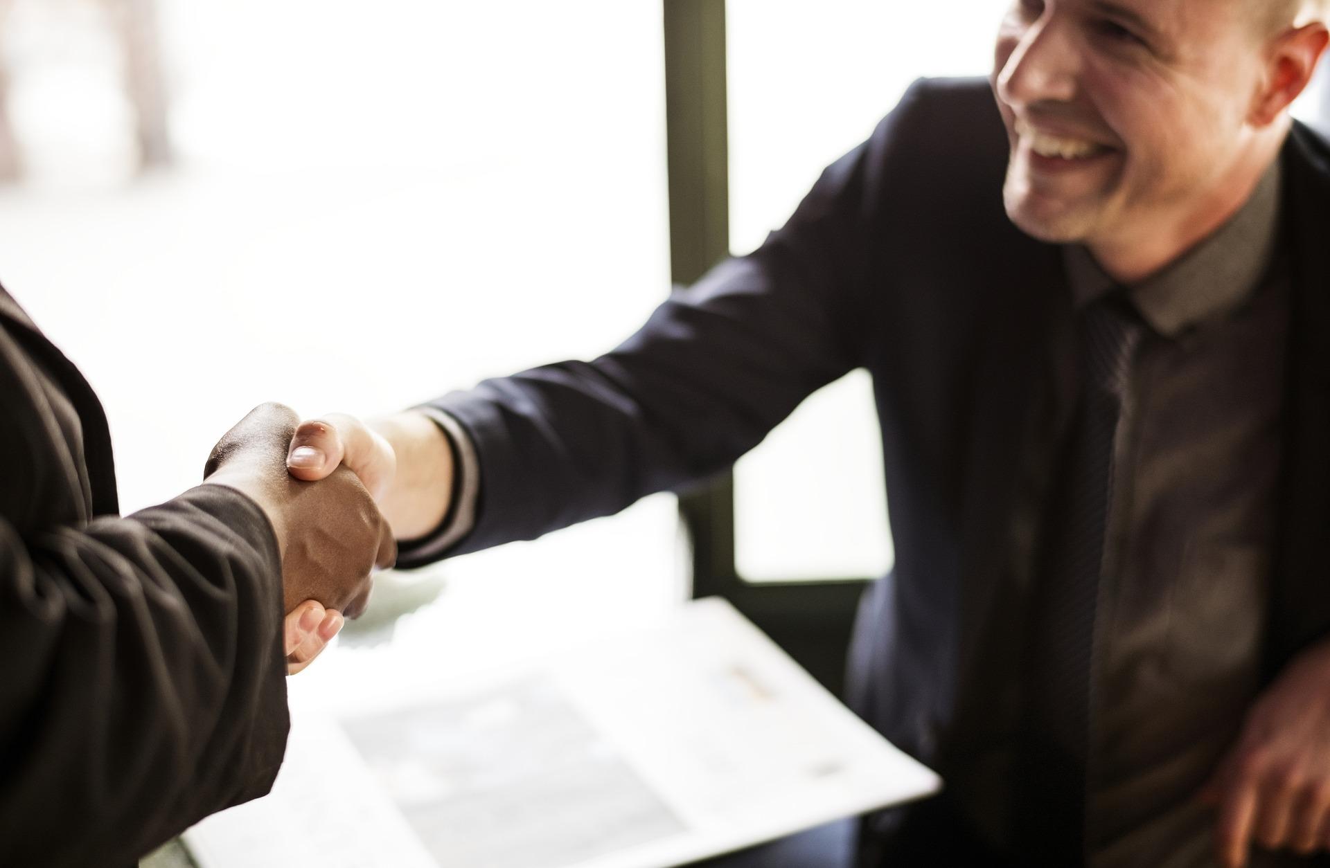 handshake coaching teachers success