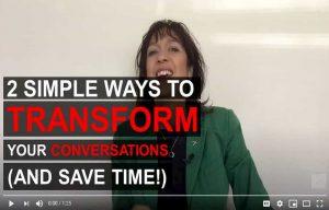 listen effectively the coach approach